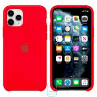 Чехол Silicone Case Apple iPhone 11 Pro Max красный 14