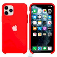Чехол Silicone Case Apple iPhone 11 Pro Max красный 31