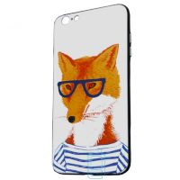 Чехол Creative TPU+PC Apple iPhone 6, 6S Fox