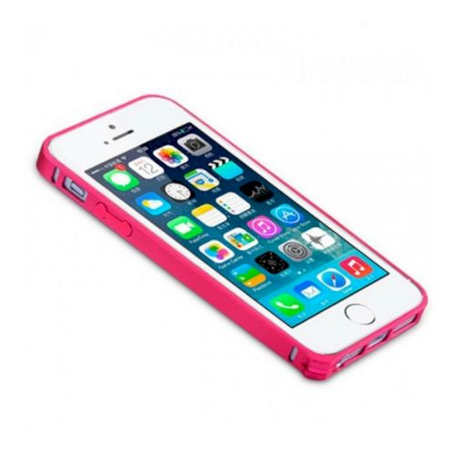 Чехол-накладка Remax Screw Metal border для Apple iPhone 5/5S Red