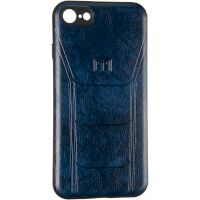 Leather Prime Case for Samsung A305 (A30) Blue