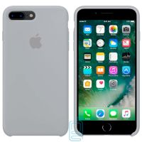 Чехол Silicone Case Original iPhone 7 Plus, 8 Plus №26 (Blue gray) (N26)