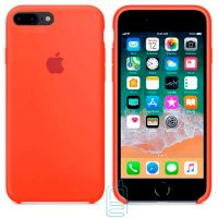 Чехол Silicone Case Apple iPhone 7 Plus, 8 Plus оранжевый 13