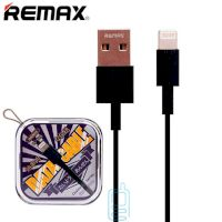 USB кабель Remax RC-120i Chaino Lightning черный