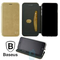 Чехол-книжка Baseus Premium Edge Apple iPhone XS Max золотистый