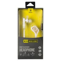 Stereo Bluetooth Headset Baseus Musice Sport Series White/Gold