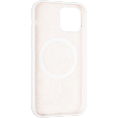 Original Full Soft Case (MagSafe) for iPhone 12/12 Pro White