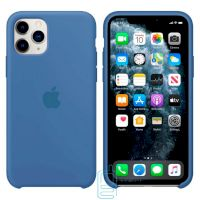 Чехол Silicone Case Apple iPhone 11 Pro Max светло-синий 03