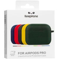 Silicon Case AirPods Pro (KeepHone) White