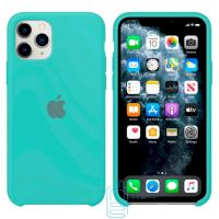 Чехол Silicone Case Apple iPhone 11 Pro Max бирюзовый 21