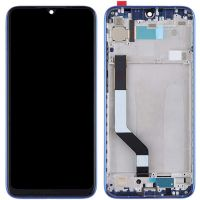 LCD Xiaomi Redmi Note 7 + touch + frame Blue