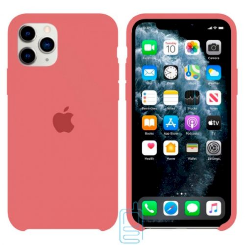 Чехол Silicone Case Apple iPhone 11 Pro розовый 52