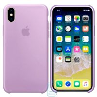 Чехол Silicone Case Apple iPhone X, XS сиреневый 39