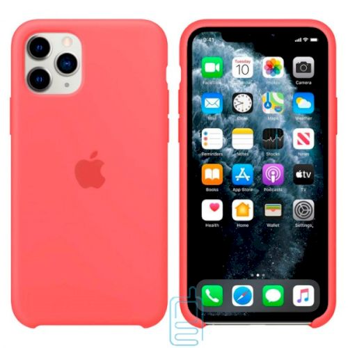 Чехол Silicone Case Apple iPhone 11 Pro малиновый 30
