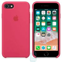 Чехол Silicone Case Apple iPhone 7 Plus, 8 Plus бордовый 37