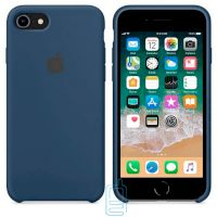 Чехол Silicone Case Apple iPhone 6, 6S темно-синий 36