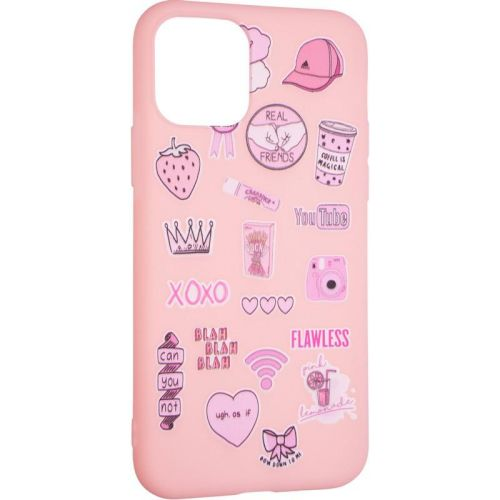 TPU Print for Samsung G780 (S20 FE) Pink