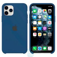 Чехол Silicone Case Apple iPhone 11 Pro темно-синий 36