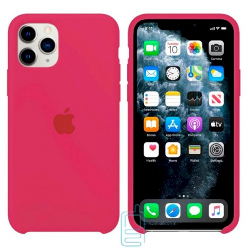 Чехол Silicone Case Apple iPhone 11 Pro бордовый 37