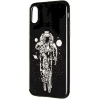 Space Silicon Case for iPhone 11 Pro №2 Black