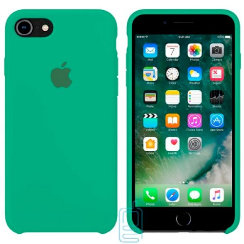 Чехол Silicone Case Apple iPhone 6 Plus, 6S Plus зеленый 47