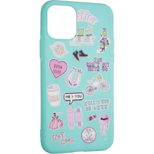 TPU Print for Samsung A217 (A21s) Mint