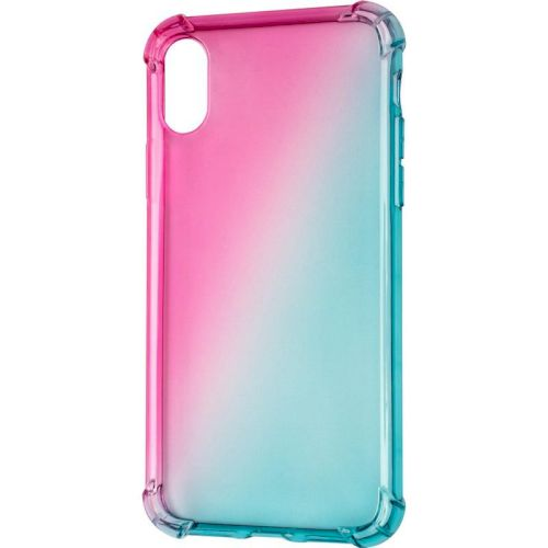 Ultra Gradient Case for iPhone 12/12 Pro Blue/Pink