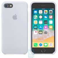 Чехол Silicone Case Apple iPhone 6, 6S серо-голубой 26