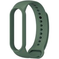 Xiaomi Silicone Band For Mi Band 5 Dark Green(Силиконовый ремешек)