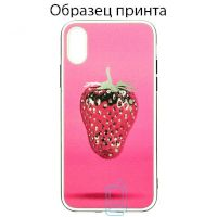 Чехол Fashion Mix Apple iPhone 11 Pro Max Strawberry