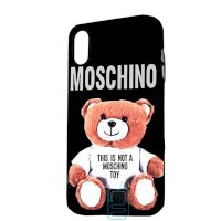 Чехол Creative TPU+PC Apple iPhone X, XS Moschino black