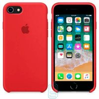 Чехол Silicone Case Apple iPhone 5, 5S красный 14