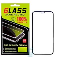 Защитное стекло Full Glue Apple iPhone X, iPhone XS black Glass