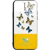 Butterfly Case for Samsung A107 (A10s) Yellow