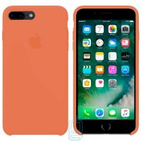 Чехол Silicone Case Apple iPhone 7 Plus, 8 Plus оранжевый 49