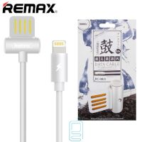 USB кабель Remax Waist Drum RC-082i Lightning белый
