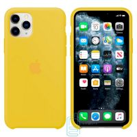 Чехол Silicone Case Apple iPhone 11 Pro желтый 04
