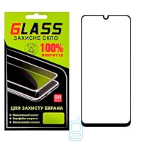 Защитное стекло Full Glue Samsung A50 2019 A505 black Glass