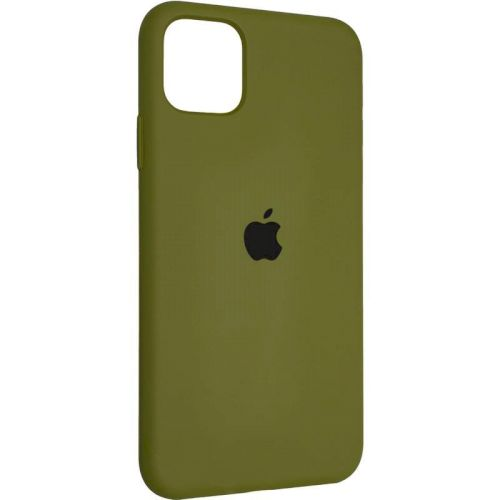 Original Full Soft Case for iPhone 12 Pro Pinery Green