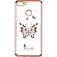 Beckberg Breathe seria (New) for Huawei Y9 (2018) Butterfly