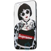 Чехол Creative TPU+PC Apple iPhone 6, 6S Sup tattoo girl