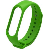 Xiaomi Silicone Band For Mi Band 5 Green(Силиконовый ремешек)