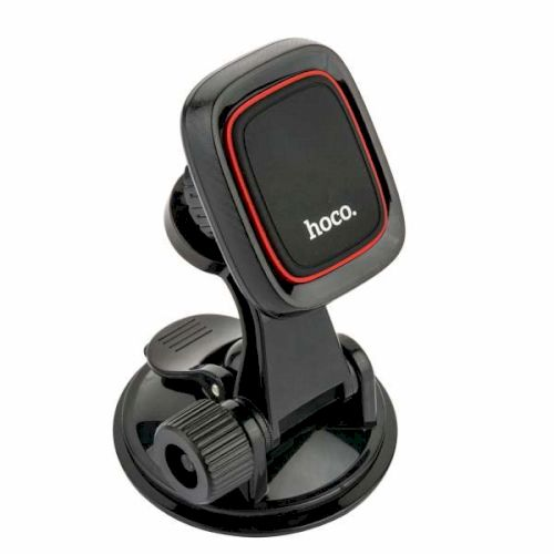 Автодержатель Hoco CA28 Happy journey series suction cup magnetic holder Black