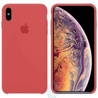 Чехол Silicone Case Apple iPhone XS Max розовый 52
