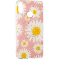 Deep Shine Flowers Case for iPhone 8 Chamomile