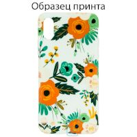 Чехол Bouquet Apple iPhone 7 Plus, 8 Plus orange