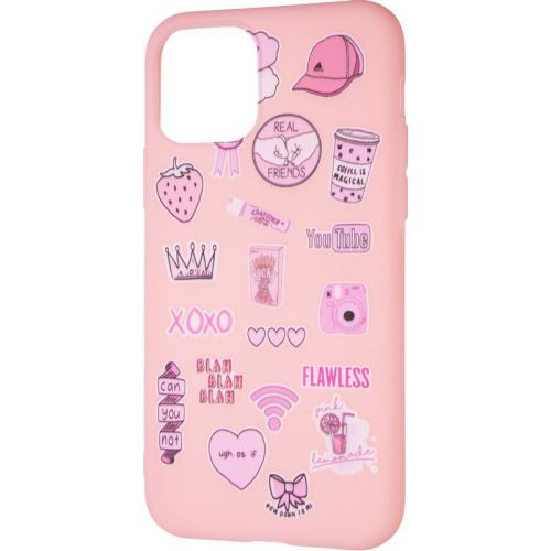 TPU Print for iPhone 7/8/SE Pink