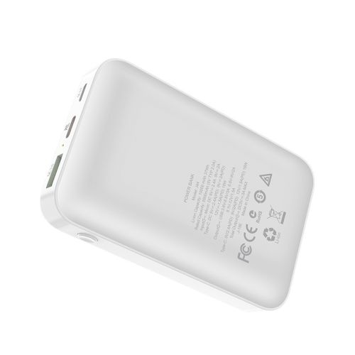 Power Bank Hoco J44 10000mAh (PD+QC3.0) White