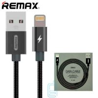 USB кабель Remax Tinned RC-080i Lightning черный